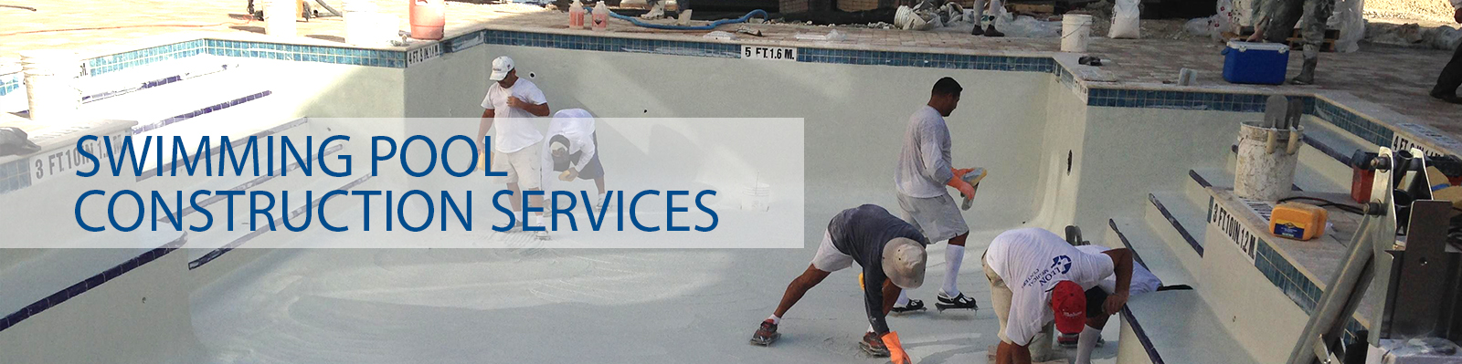Manufacturer of fibre glass swimming pool dg designs for Swimming pool construction services